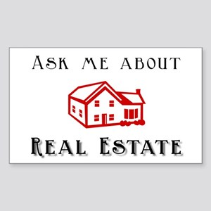 Real Estate Rectangle Sticker