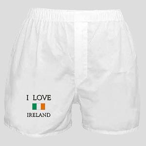 I Love Ireland Boxer Shorts