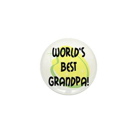World's Best Grandpa Mini Button