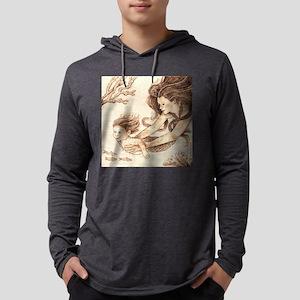 Mer-baby Mens Hooded Shirt