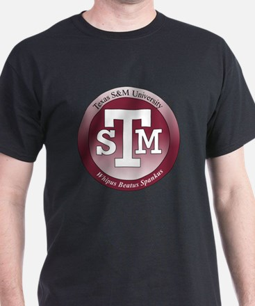 Texas S & M Black T-Shirt
