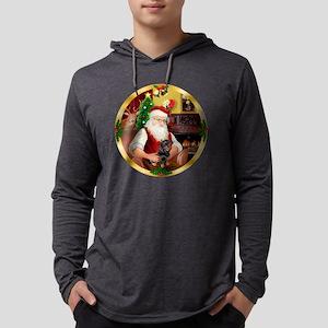 W-Santa1-Dachs4-new Mens Hooded Shirt