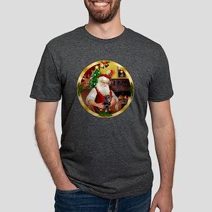 W-Santa1-Dachs4-new Mens Tri-blend T-Shirt