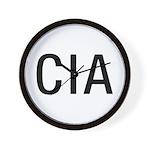 CIA CIA CIA Wall Clock