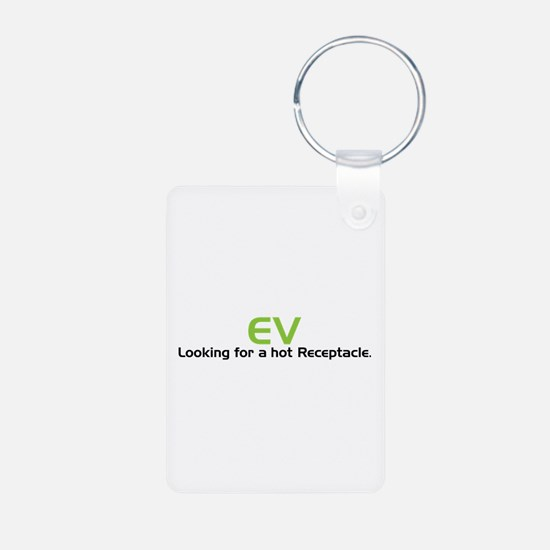 Electric Vehicle Hot Receptacle Keychains