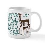 Deer in Vineyard Batik Mug