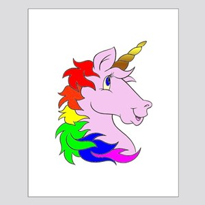 Unicorns Rule! Small Poster
