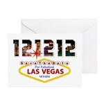 Save the Date for Las Vegas 12 12 12 Cards Pk 20