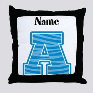 Diva Personalized A Throw Pillow