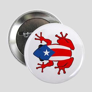 """Puerto Rico - PR - Coqui 2.25"""" Button"""