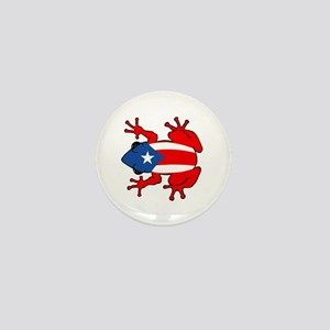 Puerto Rico - PR - Coqui Mini Button