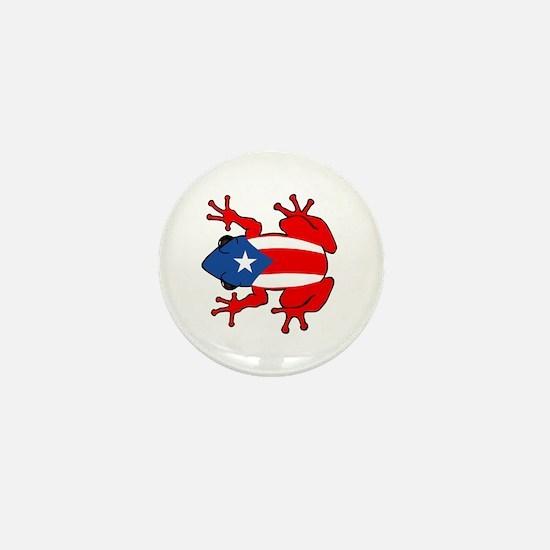 Puerto Rico - PR - Coqui Mini Button