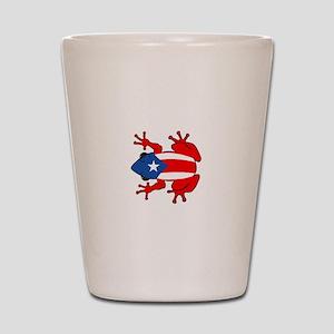 Puerto Rico - PR - Coqui Shot Glass