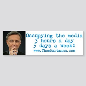 Occupying The Media Bumper Sticker