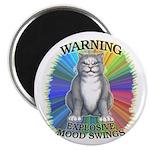 """Explosive Mood 2.25"""" Magnet (10 pack)"""