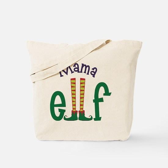 Mama Elf Tote Bag