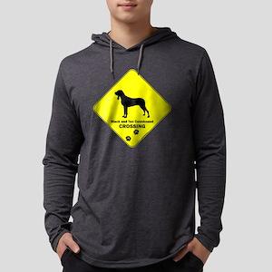 crossing-123 Mens Hooded Shirt