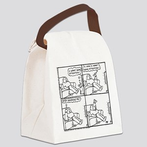 The Attention-Seeker - Canvas Lunch Bag