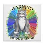 Explosive Mood Tile Coaster