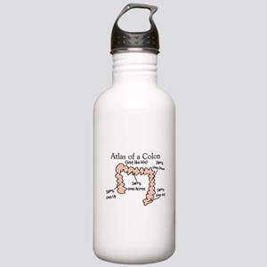 Atlas of a Colon Stainless Water Bottle 1.0L