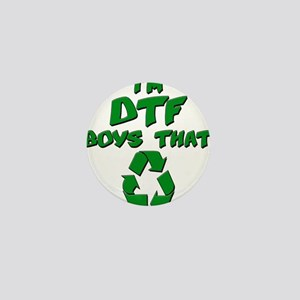DTF recycle Mini Button