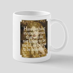 Morris Motto Mug