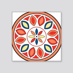 "Hex Sign Square Sticker 3"" x 3"""