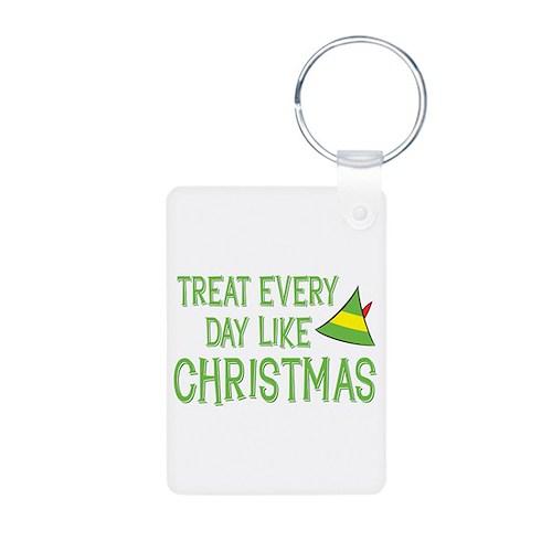 Treat Every Day Like Christmas Aluminum Photo Keyc