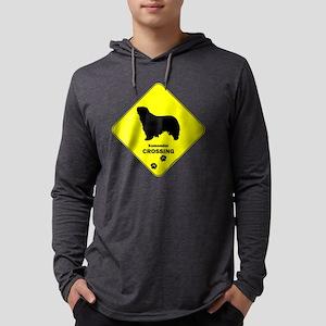 crossing-187 Mens Hooded Shirt
