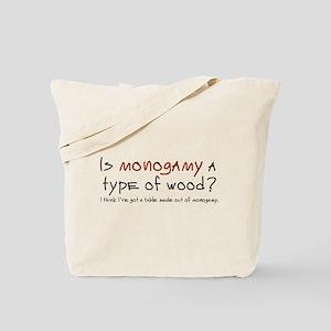 'Monogamy' Tote Bag