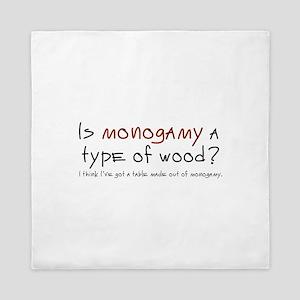 'Monogamy' Queen Duvet