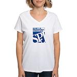 Classic SPJ Women's V-Neck T-Shirt