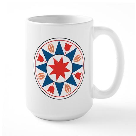 Eight Pointed Star Large Mug