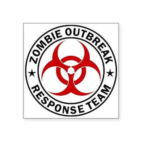 Zombie Outbreak Sticker