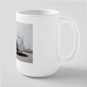 Large Mug With Towboat In Port Of Houston