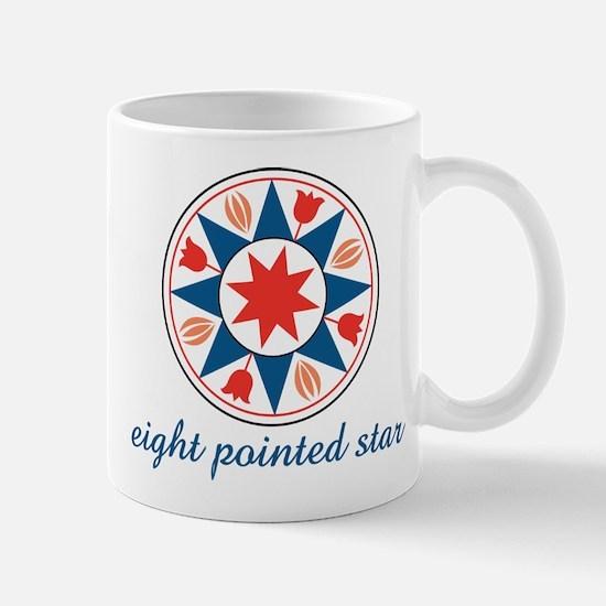 Eight Pointed Star Mug