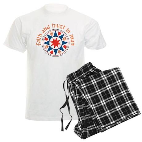 Faith And Trust Men's Light Pajamas