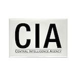 CIA CIA CIA Rectangle Magnet (10 pack)