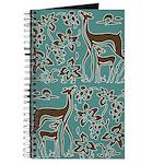 Deer in Vineyard Batik Journal