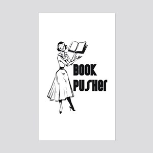 LIBRARIAN / LOCAL BOOK PUSHER Sticker (Rectangular