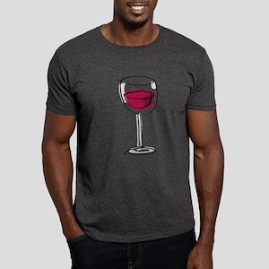 Glass Of Wine Dark T-Shirt