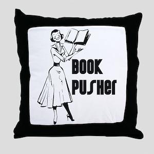 LIBRARIAN / LOCAL BOOK PUSHER Throw Pillow
