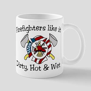 Firefighters Like It Mug