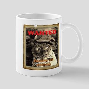 Wanted, Hissing or Purring Mug