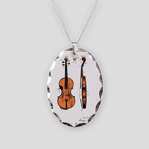 Violin / Fiddle Patent Necklace