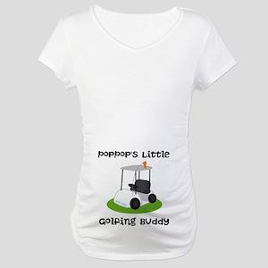 Personalized Golf Maternity T-Shirt