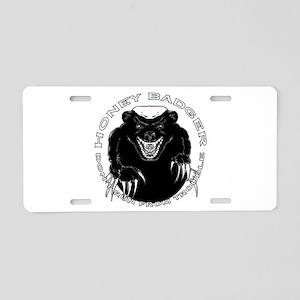 Honey badger Aluminum License Plate