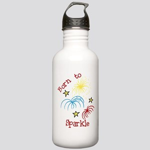 Born To Sparkle Stainless Water Bottle 1.0L