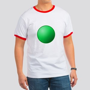 festival circle green Ringer T