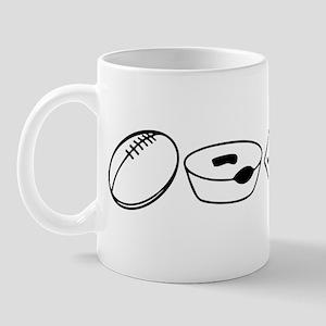Football, Meat Pies, Kangaroo Mug